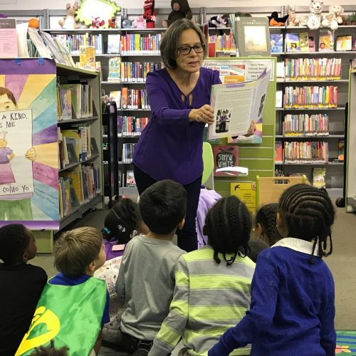 One of the Oakland Public Library Readings